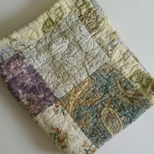 Large Quilted Pillow Case